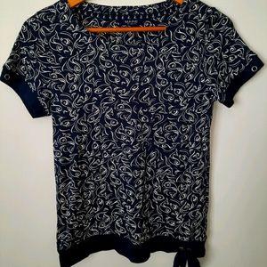Maine New England Nautical/Fish T-shirts Top